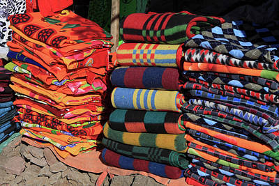 Photograph - Colorful Blanket's by Aidan Moran