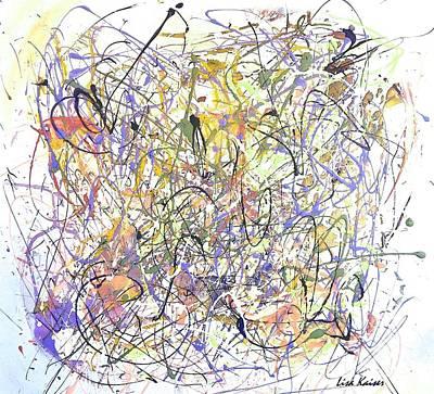 Colorful Blog Art Print