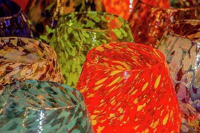 Photograph - Colorful Blown Glass by Teresa Wilson