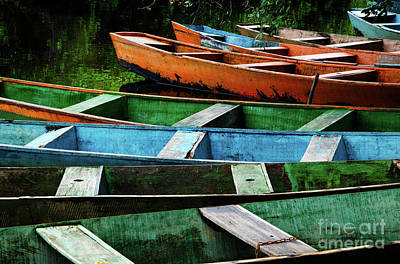 Photograph - Colorful Boats Brazil by Bob Christopher