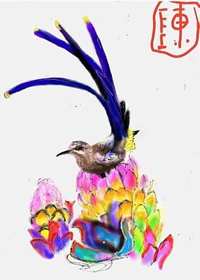 Digital Art - Colorful Botanical   by Debbi Saccomanno Chan