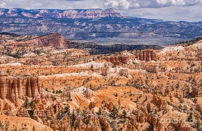 Photograph - Colorful Bryce Canyon by Peggy Hughes