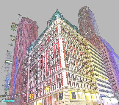 Rowing - Colorful Building by Anita Goel