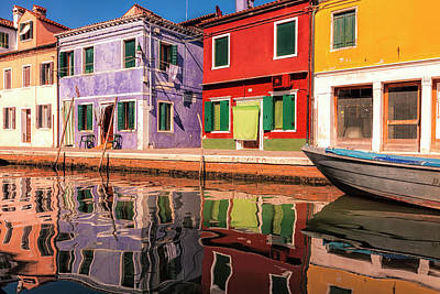 Weather Photograph - Colorful Burano by Andrew Soundarajan