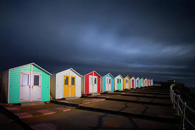 Photograph - Colorful Cabins by Dominique Dubied