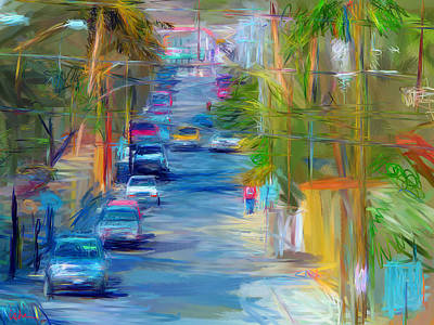 Colorful Calle  Art Print