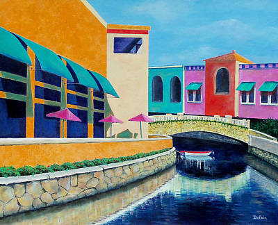 Colorful Cancun Art Print