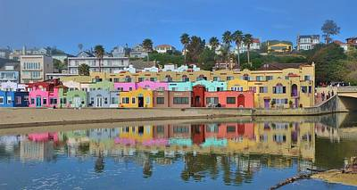 Photograph - Colorful Capitola Venetian Hotel by Marilyn MacCrakin