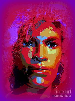 Digital Art - Colorful Carlos by Ed Weidman