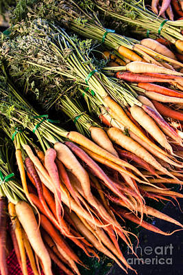 Photograph - Colorful Carrots by Ana V Ramirez