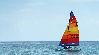 Photograph - Colorful Catamaran 5 Delray Beach Florida by Lawrence S Richardson Jr
