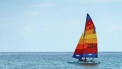 Photograph - Colorful Catamaran 5 Delray Beach Florida by Lawrence S Richardson Jr