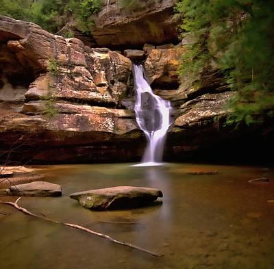 Photograph - Colorful Cedar Falls Ohio by Dan Sproul
