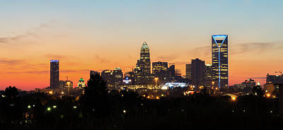 Photograph - Colorful Charlotte, North Carolina by Serge Skiba