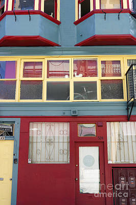 Photograph - Colorful Chinatown Building Vancouver by John  Mitchell