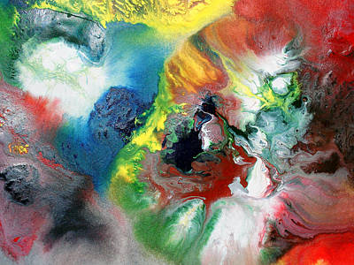 Painting - Colorful Cloud by Sumit Mehndiratta