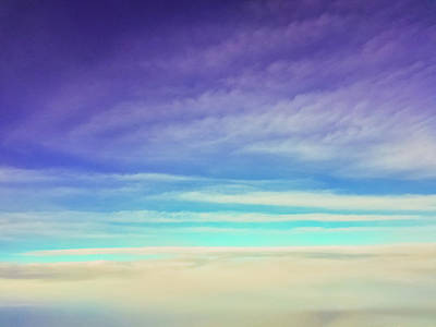 Photograph - Colorful Clouds by Jonny D