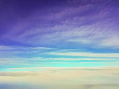 Photograph - Colorful Clouds by Jonny D