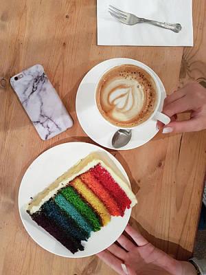 Background Photograph - Colorful Coffee-break by Iordanis Pallikaras