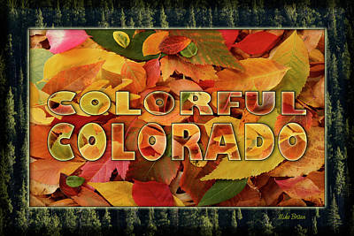 Photograph - Colorful Colorado by Mike Braun