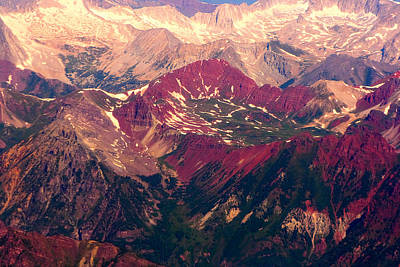 Natural Photograph - Colorful Colorado Rocky Mountains by James BO  Insogna