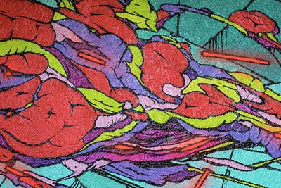 Photograph - Colorful Controversial Doodles by Georgia Mizuleva