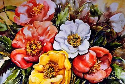 Colorful Corner 1 Art Print by Marta Styk