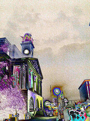 Photograph - Colorful Courthouse by Carolyn Jacob