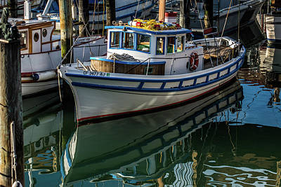 Photograph - Colorful Crab Boat by Paul Freidlund