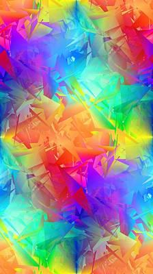 Colorful Crash 3 Art Print by Chris Butler