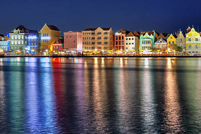 Photograph - Colorful Curacao by Nadia Sanowar