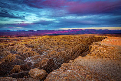 Photograph - Colorful Desert Sunrise by Peter Tellone