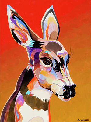 Painting - Colorful Doe by Bob Coonts