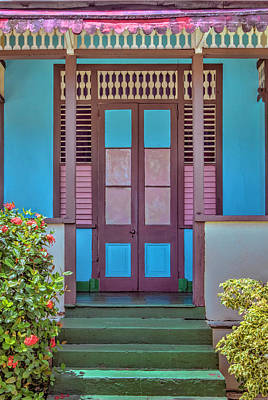 Photograph - Colorful Door by Nadia Sanowar