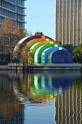 Photograph - Colorful Downtown Orlando by Denise Mazzocco