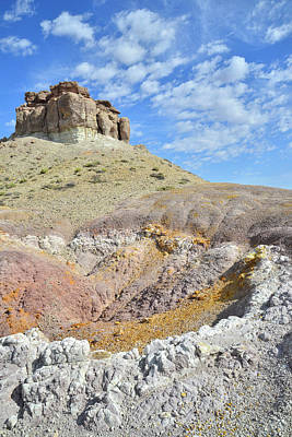 Photograph - Colorful Dunes On Cathedral Valley Road by Ray Mathis