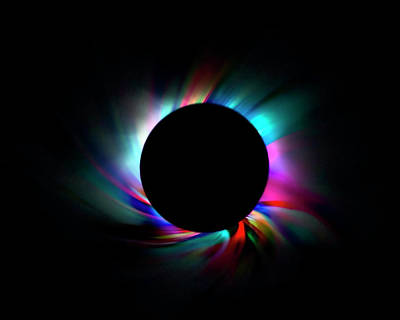 Photograph - Colorful Eclipse by Lynne Jenkins