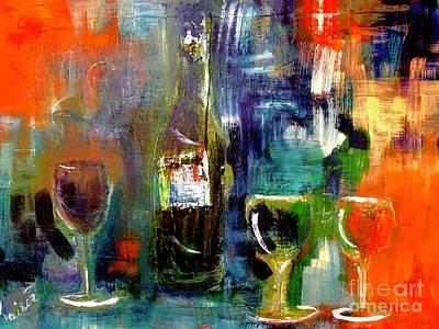 Colorful Escapism  Art Print by Lisa Kaiser