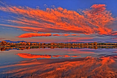 Art Print featuring the photograph Colorful Fall Morning by Scott Mahon