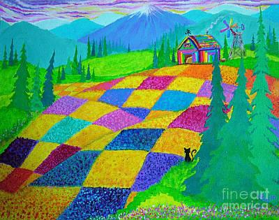 Basketball Patents - Colorful Fields by Nick Gustafson