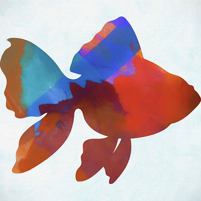 Reel Mixed Media - Colorful Fish by Dan Sproul