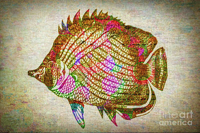 Photograph - Colorful Fish by Lynn Sprowl