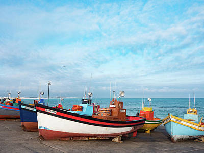 Arniston Photograph - Colorful Fishing Boats 2 by Dan Leffel