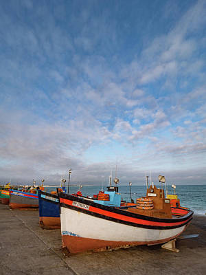 Arniston Photograph - Colorful Fishing Boats 3 by Dan Leffel