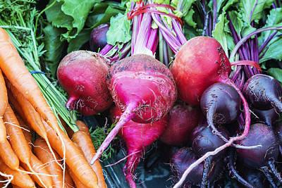 Colorful Fresh Vegetables Art Print