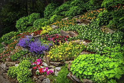 Photograph - Colorful Garden At Villa Carlotta by Carolyn Derstine