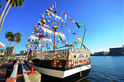 Photograph - Colorful Gasparilla by David Lee Thompson