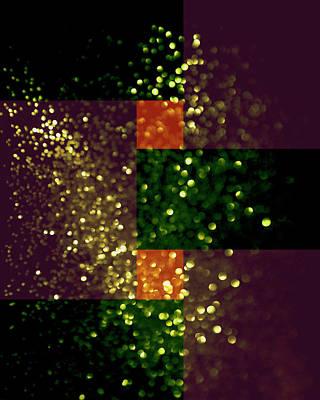 Digital Art - Colorful Geometric Abstract 3 by Johanna Hurmerinta