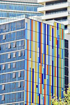 Photograph - Colorful Geometry On A Building by Kirsten Giving