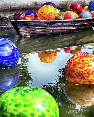 Abstract Works - Colorful Glass Spheres by Tom Gari Gallery-Three-Photography